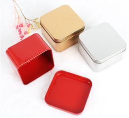$enCountryForm.capitalKeyWord Australia - 2019 Square Tea Candy Storage Box Wedding Favor Tin Box Sundries Earphone Cable Organizer Container Receive Box Gift Case SN33441