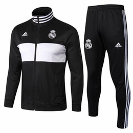 1c0fc474e5f High wholesale new 18 19 season Real Madrid jacket Bell sweatshirt 2018  2019 uniforms tracksuits soccer jerseys Isco benzema training suits