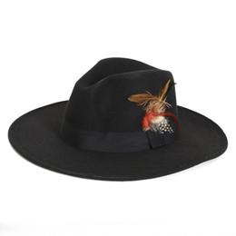 $enCountryForm.capitalKeyWord UK - Wholesale-FLOWERLI 2019 New Unisex Vintage Blower Jazz Felt Hats Men Trilby Cap Fedora England Style Woolen Hats Felt Sombreros