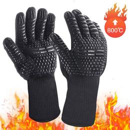 $enCountryForm.capitalKeyWord Australia - BBQ 800 degree heat resistant gloves microwave oven fire retardant gloves