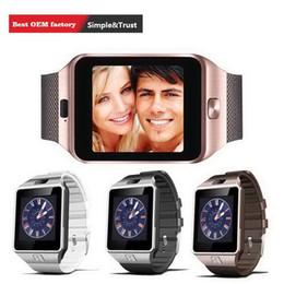 $enCountryForm.capitalKeyWord Australia - DZ09 Bluetooth Smart Watch Sync SIM Card Phone Smart watch for iPhone 6 Plus Samsung S6 Note 5 HTC Android IOS Phone VS U8 GV18 LX3