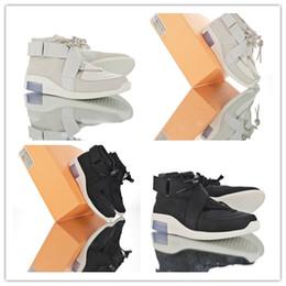 Опт 2019 год выпуска «Страх Бога» 1 светло-чёрный чёрный парус ManCasua Shoes Аутентичные спортивные кроссовки Zoom With Original 3A 22