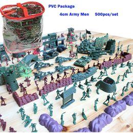 Wholesale 500PCS Military Base Army Men - World War Set Boys Gifts