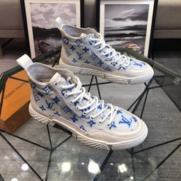 Custom boots online shopping - 2019p limited edition custom men s casual shoes fashion wild sports shoes original packaging shoe box delivery yardage