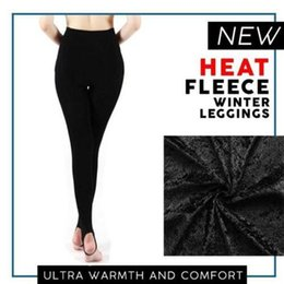 56d6e1232d5 leggings warm women Heat Fleece Winter Stretchy Leggings Warm Fleece Lined  Slim Thermal Pants leggings mujer shein plus size