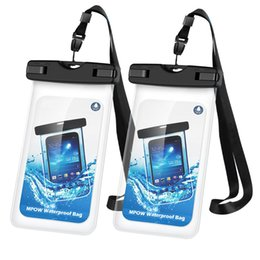 Touch Screen Water Resistant Australia - Amazon hot sales models recommended touch screen mobile phone waterproof bag iphone7 unlock universal water supplies