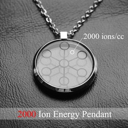StainleSS Steel chi pendant online shopping - LITTLE FROG CC High Ion Bio Chi Quantum Pendant Scalar Energy With Stainless Steel Necklace Chain