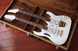 $enCountryForm.capitalKeyWord Australia - Rare Alpine White Double neck 7v Electric Guitar 12 strings 6 strings double neck China guitar