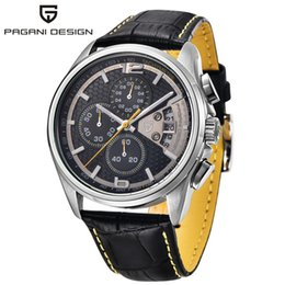 Multi Function Meters Australia - PAGANI DESIGN watch men's multi-function quartz men's chronograph sports watch diving 30 meters casual Relogio Masculino