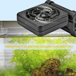 coolest gadgets Australia - Aquarium Cooling Fan Quiet Multi-angle Temperature Control Fish Tank Water Cool Necessary Temperature Regulation Gadgets