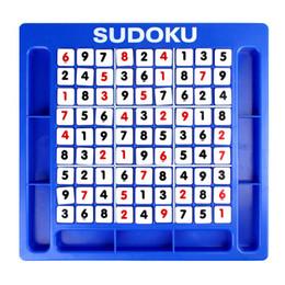 Sudoku toyS online shopping - child Puzzle Board game toy Jiugongge Sudoku Game chess child Development logic thinking reasoning training