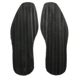 shoe sole protector heel UK - 1 Pair Kit Shoe Soles Flat DIY Replacement Repair Elastic Thicken Soft Stick On Heel Anti Slip Rubber Outsole Protector
