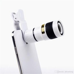 Wholesale Manual Operation Universal X Mobile Phone Telescope HD External Telephoto Lens Replacement Tele Lens Optical Zoom Cell Phone Camera Lens