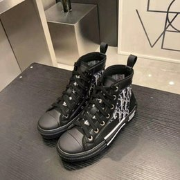 Custom Canvas shoes online shopping - 2020 new limited edition custom Men Women printed canvas shoes fashion versatile Casual high and low shoes with shoe box delivery