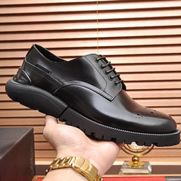 $enCountryForm.capitalKeyWord Australia - Fashion Classic Derby Shoes Breathable Mens Shoes Autumn and Winter Leather Dress Soft Footwears Sneakers Formal Party Office Wedding Shoes
