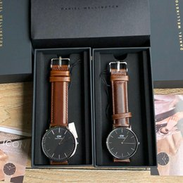 afd9f902ce3 Dw Watch Bands NZ - 2019 New Designer Brand DW Mens 40mm Womens 36mm Genuine  Leather
