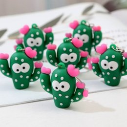 Solar Gadgets Australia - CUTE SWEETIE MEXICO ARIZON CACTUS KEYCHAIN KEYRING SOFT RUBBER CHARM KEY CHAIN KEY RING LOVELY KEYS GADGET ACCESSORIES DAILY GIFT