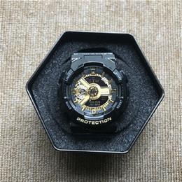 Опт GA110 горячая распродажа G спортивные мужские часы светодиодные детские часы мирового времени водонепроницаемый и противоударный лента бесплатная доставка