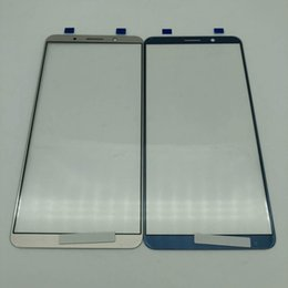 Touch Panel Repair NZ - 2pcs Touch Screen front glass panel For Huawei Mate 10 Pro crack glass replacement repair with HD display tested before shipping