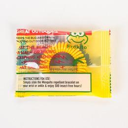 venda por atacado Novo Mosquito Pulseira Repelente Elástico Espiral Elástico Espiral mão Wrist Band Anti-mosquito pulseira Bebê Pulseira DH0146