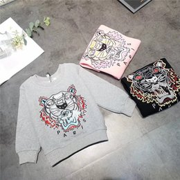$enCountryForm.capitalKeyWord NZ - Baby Clothes Kids Sweaters 2019 Autumn Newest Fashion Children Cotton Woolen Sweaters Exquisite Tiger Head Embroidery For Kids Sweatershirt
