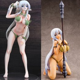 $enCountryForm.capitalKeyWord NZ - Queen's Blade Alleyne Queens Blade Anime Game Alleyne Leaf Suit Version Sexy Girls PVC Action Figures toys Anime figure Toy gift