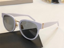 Case k online shopping - New Popular Women Sunglasses K Designer Metal and Plank design Glasses Summer Simple trend Eyewear UV400 protection Come With Case