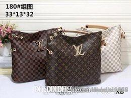 PaPer shoulders online shopping - Famous Brand Women Bags PU Leather Handbags Famous Designer Brand Bags Purse Shoulder Tote Bag Wallet AA180 mk