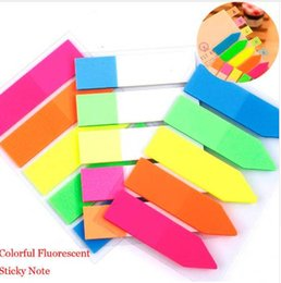 Selling Stationery Australia - Top Selling Colorful PET Memo Pad Fluorescent Post It Sticky Notes Office School Supply Kids Stationery gift