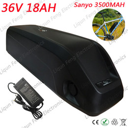 $enCountryForm.capitalKeyWord Australia - Free Customs Tax 36V 18AH Hailong tube E-bike Lithium ion Battery use for sanyo 3500MAh power cell Electric Bicycle Battery Pack.