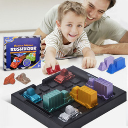 $enCountryForm.capitalKeyWord Australia - Rushhour Traffic jam time Rush hour Playing Children's thinking logic clearance game puzzle toy board game for kids