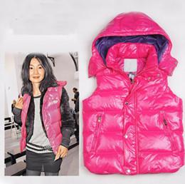 ba1302c3def572 2019 Moda New Winter Giubbotto per le donne Cappotto Slim Design Gilet  Femminile Marca Sleeveless Jacket Donna Nero Viola Rosso Marrone Saldi  economici