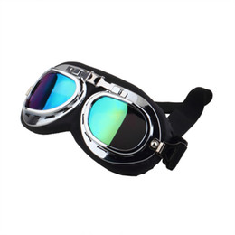 $enCountryForm.capitalKeyWord UK - Motorcycle Glasses Scooter Goggles Pilot Ski Dirt Bike Cycling Lens Frame Goggles Motocross Glasses Sunglasses Off-Road Eyewear