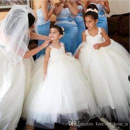 $enCountryForm.capitalKeyWord Australia - Little Baby Flower Girl's Dresses Princess Corset Back First Communion Dresses for Weddings Cheap Vestidos Kids Formal Wear