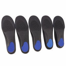 flat foot shoes Canada - 1 Pair Shoes Arch Support Cushion Feet Care Insert Orthopedic Flat Foot Insole