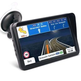 $enCountryForm.capitalKeyWord Australia - 9 Inch Truck GPS Navigator With Sunshade Shield Auto Car Sat Nav FM Bluetooth AVIN Navigation Built-in 8GB Maps