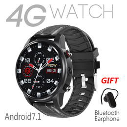 Smart Watch Wifi Camera Australia - Finow X7 Smart Watch 4G Mobile Cell Phone Android7.1 MTK6739 Quad-Core with SIM Card Camera Bluetooth GPS Wifi Heart Rate Monitor Pedometer