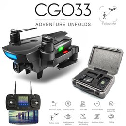 $enCountryForm.capitalKeyWord Australia - Zwn Cg033 Brushless Fpv Quadcopter With 1080p Hd Wifi Gimbal Or No Camera Rc Helicopter Foldable Drone Gps Dron Kids Gift C19041901