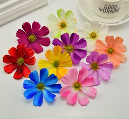 gerbera accessories Australia - 10pcs 7cm Artificial flowers christmas wreath decor for home wedding bridal accessories clearance diy a cap gifts silk gerbera