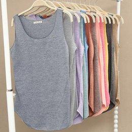 $enCountryForm.capitalKeyWord Australia - Summer New Tank Tops Women Sleeveless Round Neck Loose T Shirt Ladies Vest Singlets