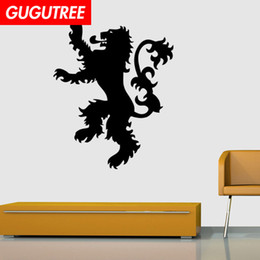$enCountryForm.capitalKeyWord Australia - Decorate Home lion cartoon art wall sticker decoration Decals mural painting Removable Decor Wallpaper G-2171