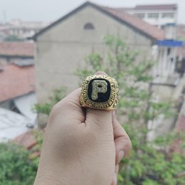 Pittsburgh Rings NZ - 2019 wholesale PITTSBURGH 1979 PIRATES WORLD SERIES CHAMPIONSHIP RING Fan Men Gift Wholesale Drop Shipping