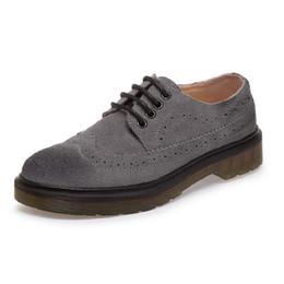 Flat Lace Up Oxfords Women Australia - Plus Size 34-44 Lovers Shoes Womens Flats Vintage Platform Shoes Oxford Lace up Brogue For Women Comfortable