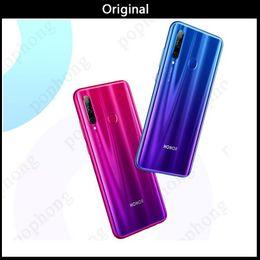"huawei google phone 2019 - DHL Huawei Honor 20i 4G LTE Smart Mobile Phone 6GB RAM 64GB 256GB ROM Kirin 710 Octa Core 6.21"" Full Screen 32MP Fa"