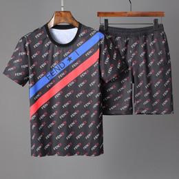 Sport T Shirts Designs New Australia - New Sports Leisure Set Italy designer luxury Design T-shirt Shorts, Embroidered Men's Lapel Sportswear. mens tracksuits jogging suits 0604