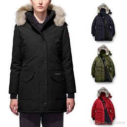 $enCountryForm.capitalKeyWord Australia - DHL Free Shipping 2019 New Brand Canada Women's Goose Trillium Down Bomber Hooded Warm Coat Fur outdoor Windbreaker parka