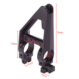 Metal Sights Australia - Tactical Iron sight Metal Triangle Front Sight For M Series Airsoft AEG