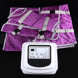 PressotheraPy slimming machine online shopping - Factory Price Pressotherapy lymph drainage slimming machine detox blankets equipment slimming stimulator sauna blanket for sale