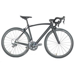 bike complete Australia - All internal cable carbon road complete bike intergrated handlebar Aero 38*25mm rims with Sh1mano R8000 Groupset 22 speed FM208