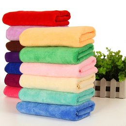 $enCountryForm.capitalKeyWord Australia - 30*60cm Microfiber Towels Car Household Cleaning Towel Thickening Wipes Hairdressing Beauty Disinfection Absorbent Towel 6 Colors BH2215 CY